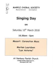 Website Singing Day 2017